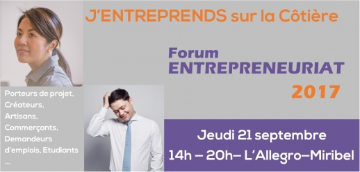 Photo de couverture Forum Jentreprends sur la Cotiere 2017